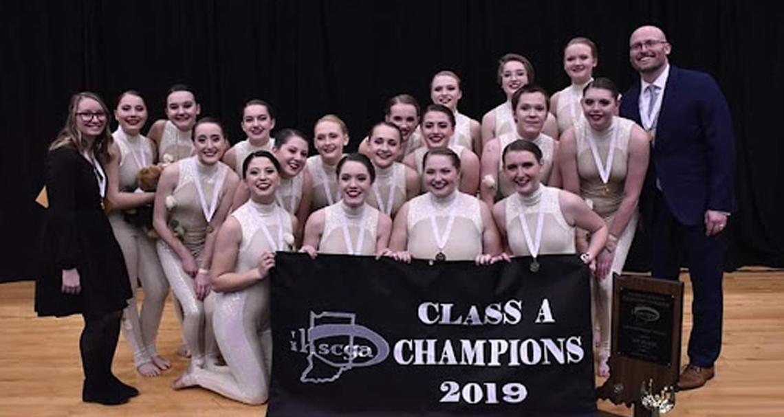 Zionsville High School 2019 IHSCGA Class A Champions