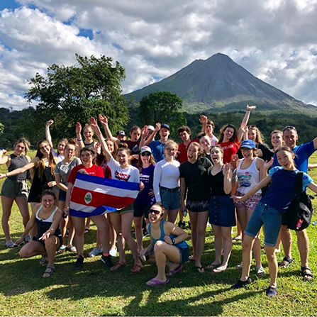 Costa Rica Adventure Trips for Students