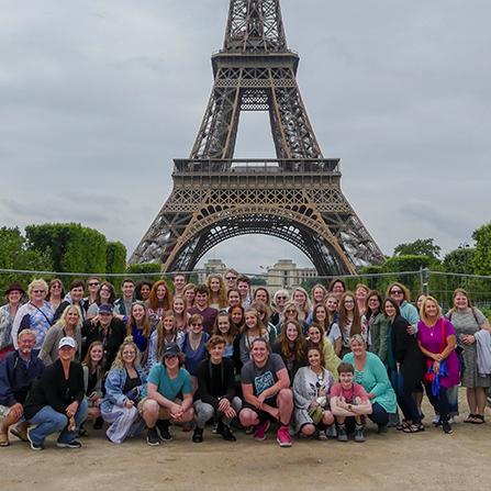 Paris, France Art Trips for Students