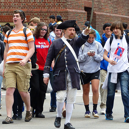 Boston History Trips for Students
