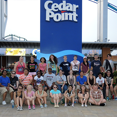 Cedar Point Theme Park Trips for Students